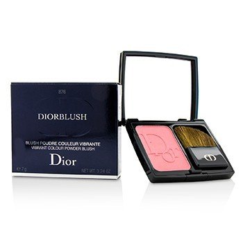 Christian Dior DiorBlush Rubor en Polvo Color Vibrante - # 876 Happy Cherry  7g/0.24oz