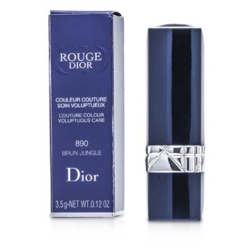 Christian Dior Rouge Dior Couture Colour Cuidado Voluptuoso - # 890 Brun Jungle  3.5g/0.12oz