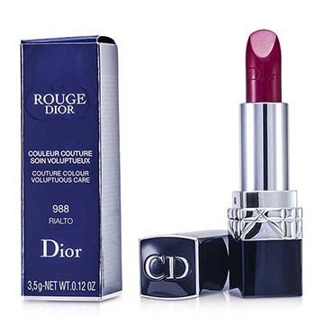 Christian Dior Rouge Dior Couture Colour Cuidado Voluptuoso - # 988 Rialto  3.5g/0.12oz