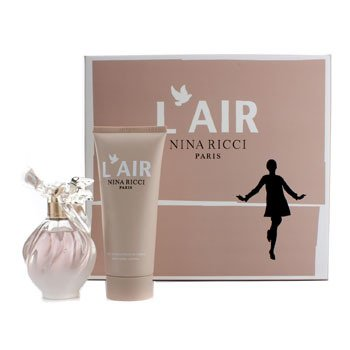 Nina Ricci L'Air Coffret: Eau De Parfum Spray 50ml/1.7oz + Loción Corporal Sedosa 100ml/3.4oz  2pcs