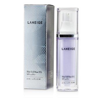 Laneige Skin Veil Bază Fond de Ten EX SPF 22 - # Nr. 44 Purpuriu Deschis  30ml/1oz