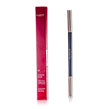 Clarins Long Lasting Eye Pencil with Brush - # 04 Platinum  1.05g/0.037oz