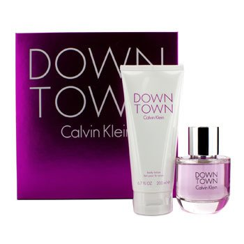 Calvin Klein Downtown Coffret: Eau De Parfum Spray 90ml/3oz + Loción Corporal 200ml/6.7oz  2pcs
