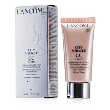 Lancome City Miracle CC Cream SPF 50 - 01 Beige Dragee  30ml/1oz