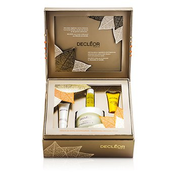 Decleor Nourishing Treasure Trove مجموعة: Nutridivine كريم 50مل + بلسم الشفاه 10مل + سيرم 5 مل + بلسم ليلي 2.5مل  4pcs