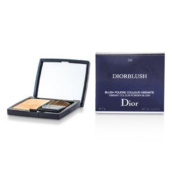 Christian Dior DiorBlush Vibrant Colour Powder Blush - # 586 Orange Riviera  7g/0.24oz