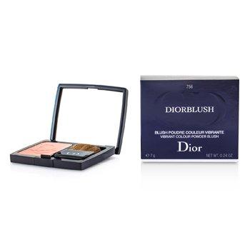 Christian Dior DiorBlush Vibrant Colour Powder Blush - # 756 Rose Cherie  7g/0.24oz