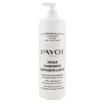 Payot Oczyszczający olejek do twarzy o mlecznej konsystencji Huile Fondante Demaquillante Milky Cleansing Oil - For All SKin Types (duża pojemność)  1000ml/33.8oz