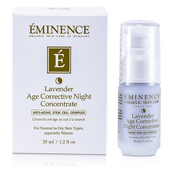 Eminence Lavender Age Corrective Night Concentrate (Normal to Dry Skin, Especially Mature)  35ml/1.2oz