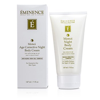 Eminence Monoi Age Corrective Night Body Cream (Normal to Dry Skin)  147ml/5oz
