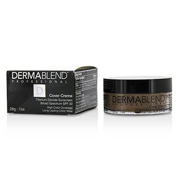 Dermablend Cover Creme Broad Spectrum SPF 30 (High Color Coverage) - Olive Brown  28g/1oz
