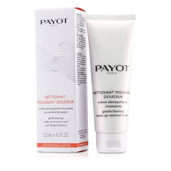 Payot Les Demaquillantes Nettoyant Moussant Douceur Gentle Foaming Make-Up Removal Cream (For Normal To Dry Skins)  125ml/4.2oz