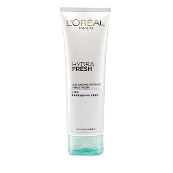 L'Oreal Hydrafresh Balancing Refining PH6.5 Foam  125ml/4.2oz