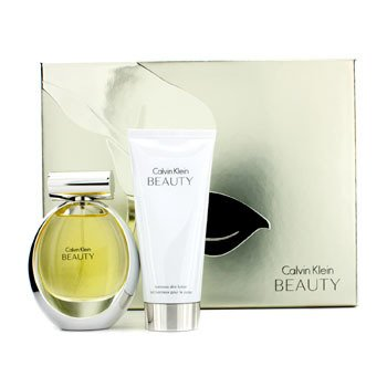 Calvin Klein Beauty Coffret: Eau De Parfum Spray 50ml/1.7oz + Luminous Losyen Badan 100ml/3.4oz  2pcs