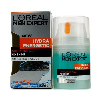 L'Oreal Men Expert Hydra Energetic Quenching Gel (Pump)  50ml/1.7oz