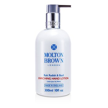 Molton Brown Loção Para Mãos Rok Radish & Basil  300ml/10oz