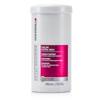 Goldwell Dual Senses Color Extra Rich Tratamiento Intensivo - Para Cabello Grueso a Áspero Tratado con Color (Producto de Salón)  450ml/15.2oz