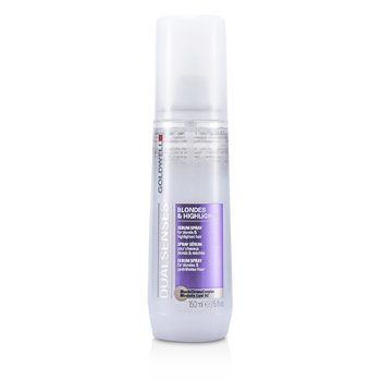 Goldwell Dual Senses Blondes & Highlights Suero en Spray - Para Cabello Rubio e Iluminado (Producto Salón)  150ml/5oz
