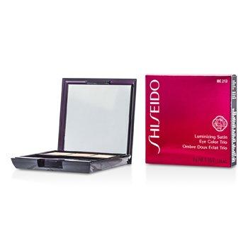 Shiseido Trío Color de Ojos Satinados Iluminadores - # BE213 Nude  3g/0.1oz