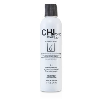 CHI CHI44 Ionic Power Plus C-1 Vitalizing Shampoo (For Fuller, Thicker Hair)  248ml/8.4oz