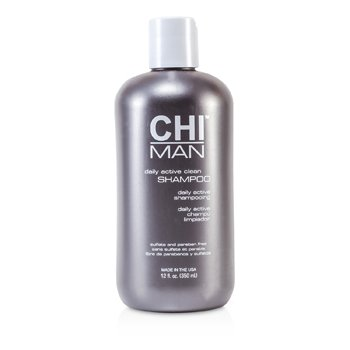 CHI Man Daily Active Clean Shampoo  350ml/12oz