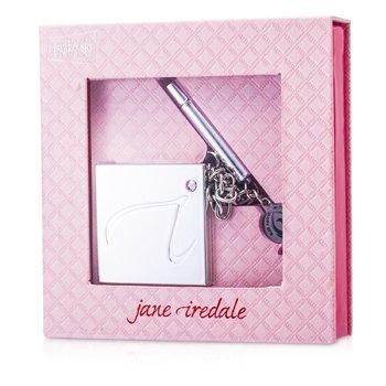 Jane Iredale Bright Future Sombra de Ojos Compacta (5xMini Sombra de Ojos, 1x Brocha de Sombra de Ojos Tamaño Viaje)  1.5g/0.05oz