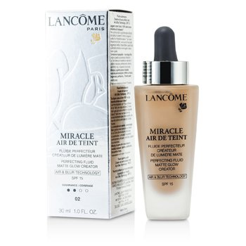 Lancome Miracle Air De Teint Perfecting Fluid SPF 15 - # 02 Lys Rose  30ml/1oz