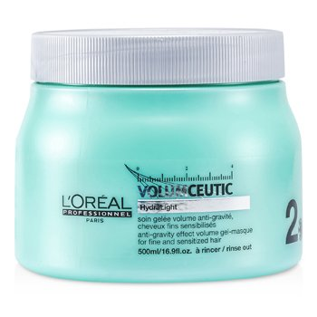 L'Oreal Professionnel Expert Serie - Volumceutic Anti-Gravity Effect Máscara-Gel Volumen (Para Cabello Fino y Sensibilizado)  500ml/16.9oz