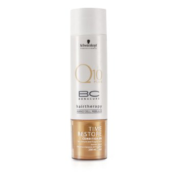 Schwarzkopf BC Time Restore Q10 Plus Conditioner (For Mature and Fragile Hair)  200ml/6.7oz