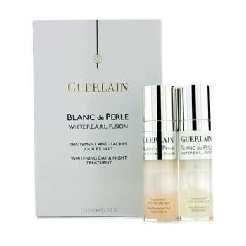 Guerlain Blanc De Perle White P.E.A.R.L. Fusion Tratamiento de D�a & Noche Blanqueador  2x15ml/0.5oz