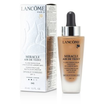 Lancome Miracle Air De Teint Perfecting Fluid SPF 15 - # 045 Sable Beige  30ml/1oz