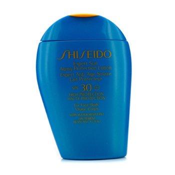 Shiseido Expert Sun Loción Protección de Envejecimiento Para Rostro & Cuerpo SPF 30  100ml/3.4oz