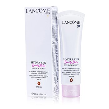 Lancome Hydrazen Beauty Balm Neurocalm Multi Benefit Soothing Anti-Stress, Farget Krem SPF 15 - # 4 Bronse  50ml/1.7oz