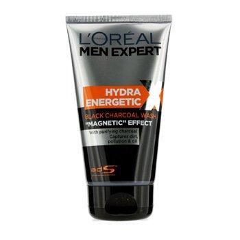 L'Oreal L'Oreal Men Expert Hydra Energetic Jab�n de Carb�n Negro  150ml/5oz