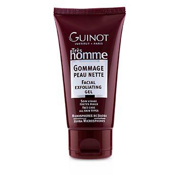 Guinot Tres Homme Gel Exfoliante Facial  75ml/2.5oz