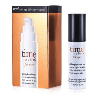Philosophy Time In A bottle Para Ojos (Suero Definidor de Edad Diario)  15ml/0.5oz