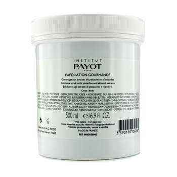 Payot Exfoliation Gourmande Body Delicious Scrub With Pistachio & Almond Extracts (Salon Product)  500ml/16.7oz