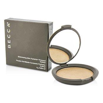 Becca Shimmering Skin Perfector Pressed Powder - # Topaz  8g/0.28oz