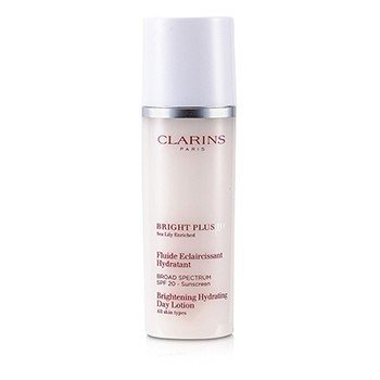 Clarins Bright Plus HP Brightening Hydrating Day Lotion SPF 20 (Unboxed)  50ml/1.7oz
