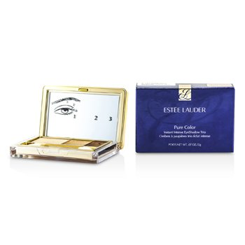 Estee Lauder Pure Color Sombra de Ojos Tr�o Instant�nea Intensa - # 05 Gilded Chocolates  2g/0.07oz