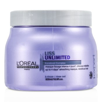 L'Oreal Professionnel Expert Serie - Liss Unlimited Smoothing Masque (For Rebellious Hair)  500ml/16.9oz