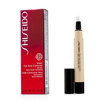 Shiseido Sheer Eye Zone Corrector - # 104 Natural Ochre  3.8ml/0.14oz