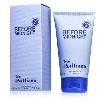 ג'ון גליאנו Before Midnight תרחיץ לגוף ולשיער  150ml/5oz