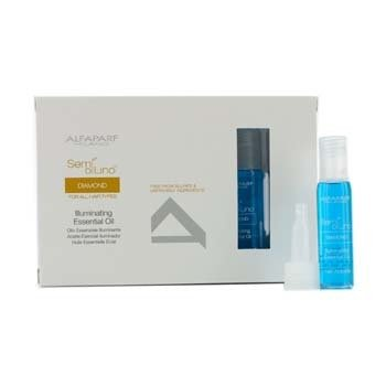 AlfaParf Semi Di Lino Diamond Illuminating Essential Oil (For All Hair Types)  12x13ml/0.43oz