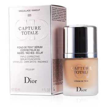 Christian Dior Capture Totale Triple Correcting Serum Foundation SPF25 - # 023 Peach  30ml/1oz