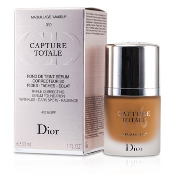 Christian Dior Base Capture Totale Triple Correcting Serum SPF25 - # 030 Medium Beige  30ml/1oz
