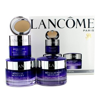 Lancome Set de Viaje Renergie Multi-Lift Ritual: Crema Reafirmante SPF 15 50ml + Crema de Noche 50ml + Ojo Duo 15ml  3pcs