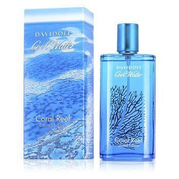 Davidoff Cool Water Coral Reef Eau De Toilette Spray (Limited Edition)  125ml/4.2oz