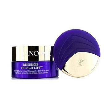Lancome Renergie French Lift: Night Duo - Retightening Cream + Massage Disk  50ml/1.7oz