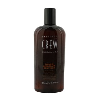 American Crew 24-Hour Deodorant Body Wash - Pembersih Tubuh  450ml/15.2oz